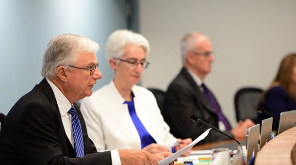From left to right: The Hon. Justice Peter McClellan AM and Justice Jennifer Coate