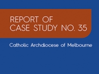 Report of Case Study No. 35: Catholic Archdiocese of Melbourne