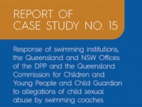 Report into swimming institutions case study released
