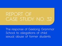 Report into Geelong Grammar School released