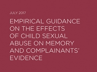 Research finds misconceptions about memory may affect child sexual abuse prosecutions