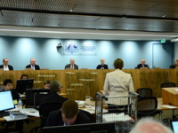 Royal Commission arrives in Canberra