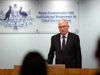 The Hon. Justice Peter McClellan at Royal Commission public hearing